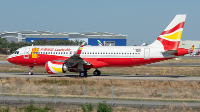 F-WWBO - Airbus A320-251N - Lucky Air