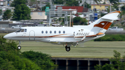 N902BE - Raytheon Hawker 900XP - Private