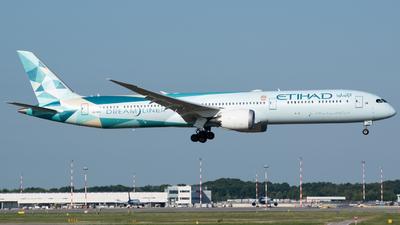 A6-BMH - Boeing 787-10 Dreamliner - Etihad Airways
