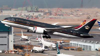 A picture of JYBAA - Boeing 7878 Dreamliner - Royal Jordanian - © Angus Chae