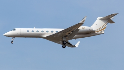 P4-GVV - Gulfstream G550 - Private