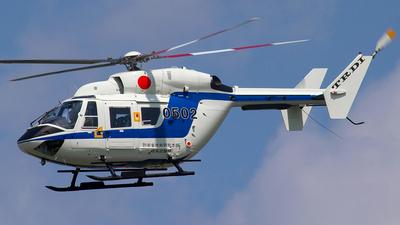 0502 - MBB-Kawasaki BK117B-1 - Japan - Technical Research and Development Institute (TRDI)