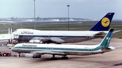 N4865T - Douglas DC-8-63(CF) - Transamerica Airlines