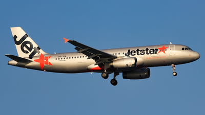 9V-JSA - Airbus A320-232 - Jetstar Asia Airways