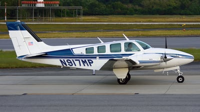 A picture of N917MP - Beech 58 Baron - [TH1243] - © Agustin Anaya