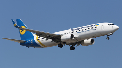 UR-UIA - Boeing 737-8KV - Ukraine International Airlines