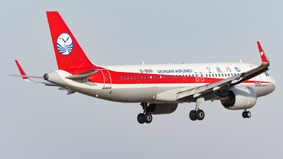 A picture of B8681 - Airbus A320271N - Sichuan Airlines - © ZBAA_ZhangYifu