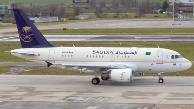 HZ-AS99 - Airbus A318-112(CJ) Elite - Saudi Arabia - Royal Flight