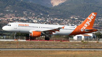 G-EZUA - Airbus A320-214 - easyJet