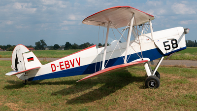 D-EBVV - Stampe and Vertongen SV-4B - Private