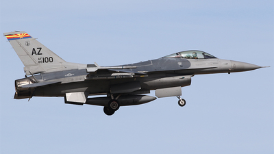 89-2100 - General Dynamics F-16CM Fighting Falcon - United States - US Air Force (USAF)