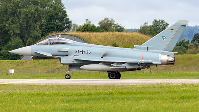 31-36 - Eurofighter Typhoon EF2000 - Germany - Air Force
