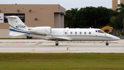 N717EP - Bombardier Learjet 60 - Private