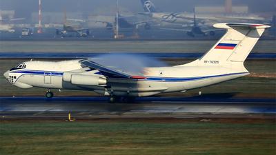 RF-76325 - Ilyushin IL-76TD - Russia - Federal Border Guards Aviation Command