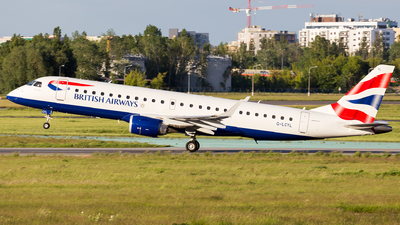 A picture of GLCYL - Embraer E190SR - British Airways - © Grzesiek Krupa