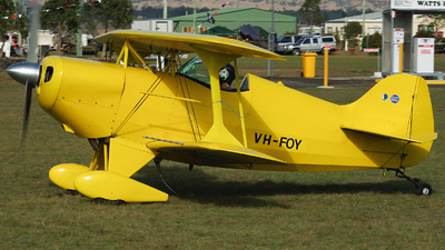 VH-FOY - Pitts S-1 Special - Private