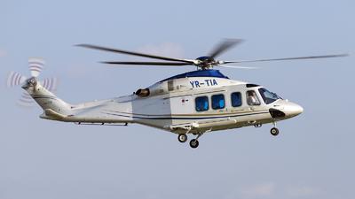 YR-TIA - Agusta-Westland AW-139 - Ion Tiriac Air
