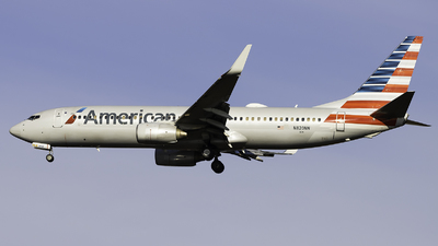 A picture of N820NN - Boeing 737823 - American Airlines - © Maik Voigt