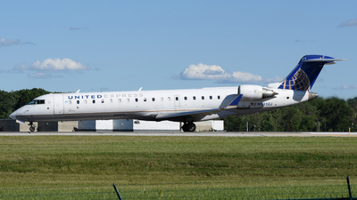A picture of N531GJ - Mitsubishi CRJ550 - United Airlines - © DJ Reed - OPShots Photo Team