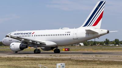 A picture of FGRXE - Airbus A319111 - Air France - © Loredana Cioclei