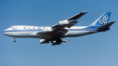 SX-OAE - Boeing 747-212B - Olympic Airways