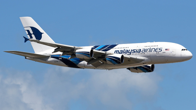 9M-MND - Airbus A380-841 - Malaysia Airlines