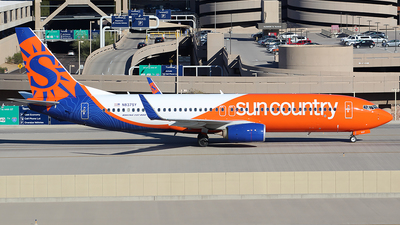 N837SY - Boeing 737-8KN - Sun Country Airlines