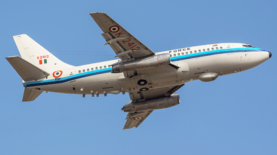 K2412 - Boeing 737-2A8(Adv) - India - Air Force