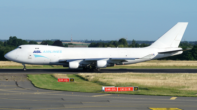 A picture of OEIFD - Boeing 7474B5F(ER) - ASL Airlines Belgium - © Jan Seler