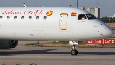 B-3108 - Embraer 190-200LR - Tianjin Airlines