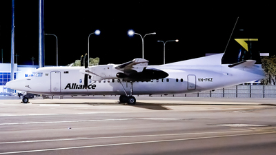 VH-FKZ - Fokker 50 - Alliance Airlines
