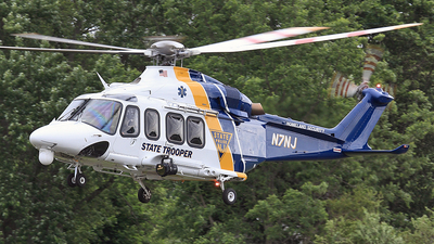 N7NJ - Agusta-Westland AW-139 - United States - New Jersey State Police