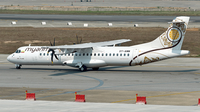 A picture of XYAMM - ATR 72600 - Myanmar National Airlines - © Ratchapon Pipitsombat