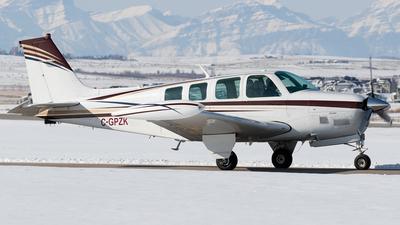 C-GPZK - Beechcraft A36TC Bonanza - Private