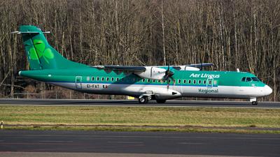 A picture of EIFAT - ATR 72600 - Aer Lingus - © Julian Maas