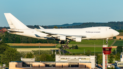 A picture of 4XICB - Boeing 747412(F) - CAL Cargo Airlines - © Thierry Weber