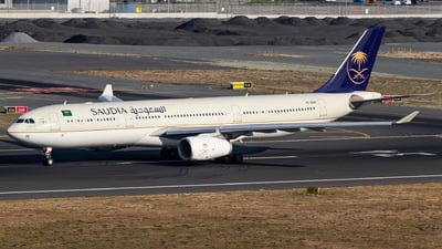A picture of HZAQ26 - Airbus A330343 - Saudia - © Steve Smith