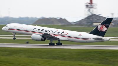A picture of CFKCJ - Boeing 757236(PCF) - Cargojet Airways - © Sean Brink