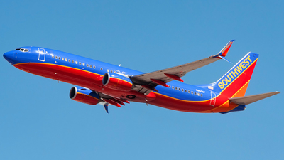 N8600F - Boeing 737-8H4 - Southwest Airlines