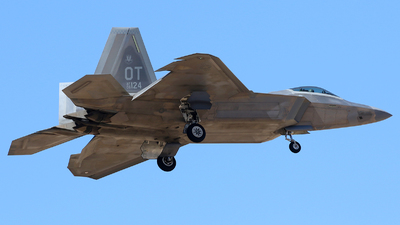 06-4124 - Lockheed Martin F-22A Raptor - United States - US Air Force (USAF)