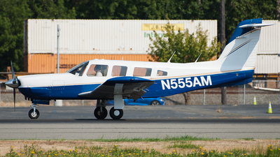 N555AM - Piper PA-32RT-300 Lance II - Private