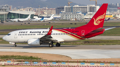 B-1459 - Boeing 737-7LY - Kunming Airlines