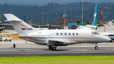 N676GH - British Aerospace BAe 125-800XP - Private