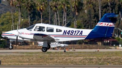 N4917A - Piper PA-44-180 Seminole - ATP Flight School