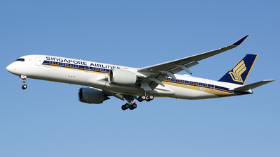 F-WZFP - Airbus A350-941 - Singapore Airlines