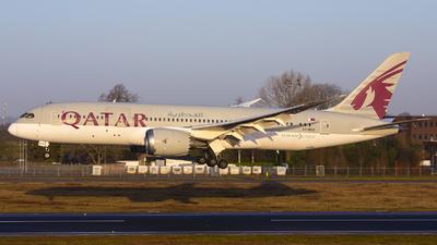 A picture of A7BCK - Boeing 7878 Dreamliner - Qatar Airways - © Bjorn van der Velpen