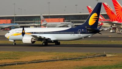 VT-JXA - Boeing 737-8 MAX - Jet Airways