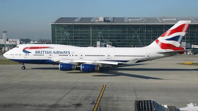 G-CIVR - Boeing 747-436 - British Airways