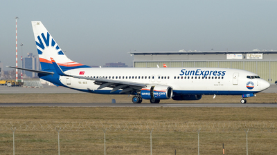A picture of TCSEE - Boeing 7378CX - SunExpress - © Christopher Sho Schmitt