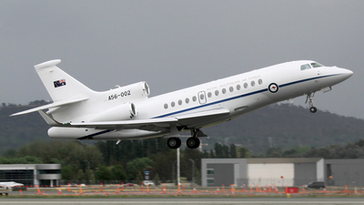 A56-002 - Dassault Falcon 7X - Australia - Royal Australian Air Force (RAAF)